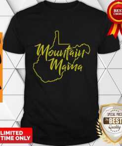 Official Mountain Mama West Virginia Shirt