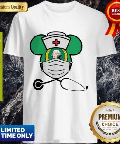 Mickey Nurse Face Mask George Washington Shirt