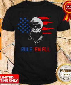 Nice Cat Donald Trump Rule Em All Shirt
