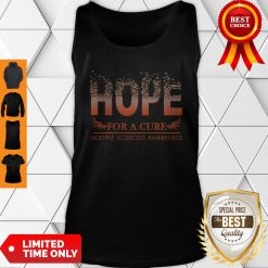 Hope For A Cure Multiple Sclerosis Awareness Tank Top