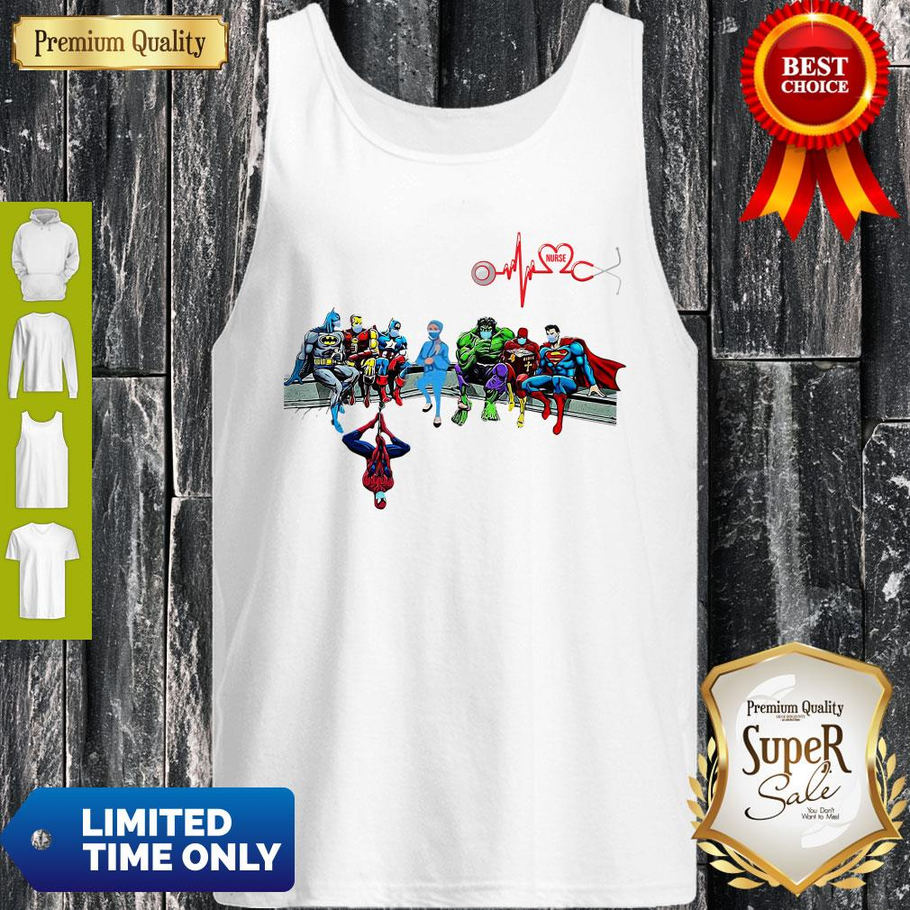 Doctor And Superheroes Nurse Healthcare Worker 2020 Tank Top