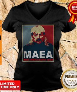 Nice Joe Exotic MAEA Make America Exotic Again V-neck