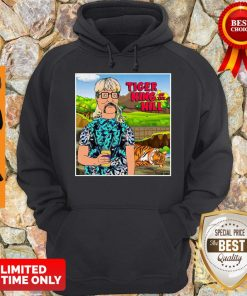 Hank Hill Joe Exotic tiger king of the hill Hoodie