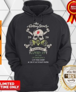 The Rolling Stones 2020 Pandemic Covid-19 In Case Of Emergency Hoodie