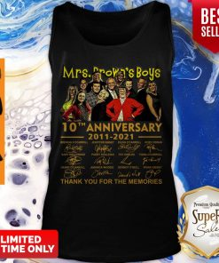 Official Mrs. Brown's Boys 10th anniversary 2011 2021 thank you for the memories signatures Tank Top