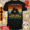 Official Vintage I Love My Wife More Than Life Itself Shirt