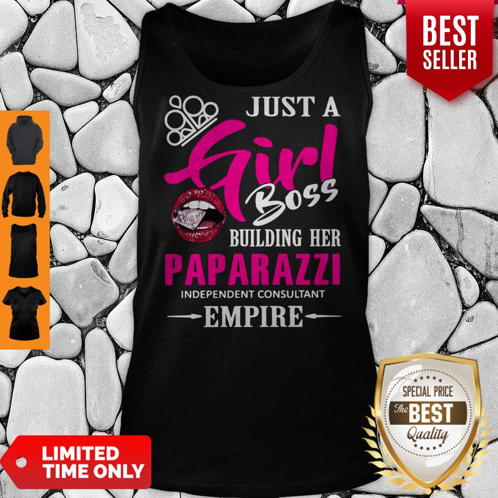 Nice Just a girl boss building her paparazzi independent consultant empire shirt Trending Design Shirt