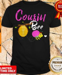 Official Cousin Bee Cute Sassy Honey Bee Mothers Day Gift Shirt