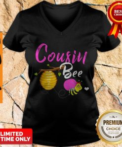 Official Cousin Bee Cute Sassy Honey Bee Mothers Day Gift V-neck
