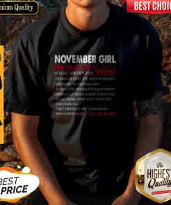 Official November Girl Facts Is Most Known For Human Lie Detector And The Realest Shirt