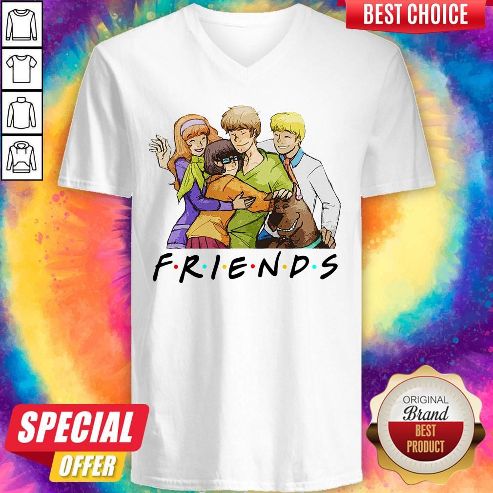 Official Scooby-Doo Friends V-neck