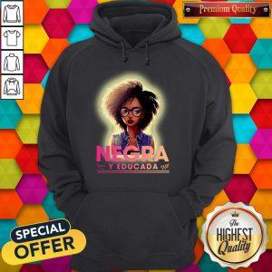 Nice Negra Y Educada Halloween Hoodie
