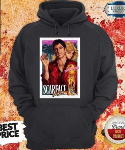 Nice Premium Al Pacino Michelle Pfeiffer World Is Yours Scarface Hoodie