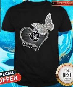 Official Butterfly Heart Raiders Girl Shirt