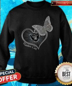 Official Butterfly Heart Raiders Girl Hoodie