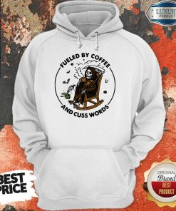 Official Skeleton Fueled By Coffee And Cuss Words Hoodie