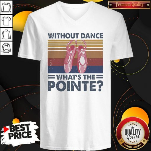 Top Without Dance What's The Pointe Vintage V-neck