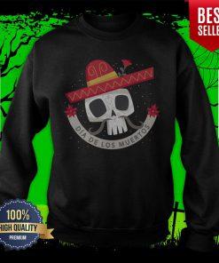 Dia De Los Muertos Day Dead Sugar Skull Sweatshirt