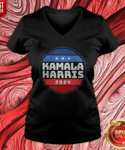 Good Vote Kamala Harris 2024 Vintage V-neck