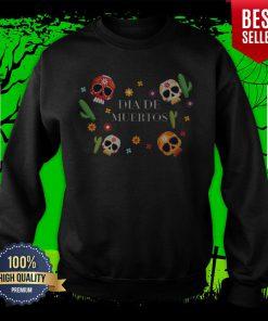 Happy Dia De Muertos Sugar Skull Sweatshirt