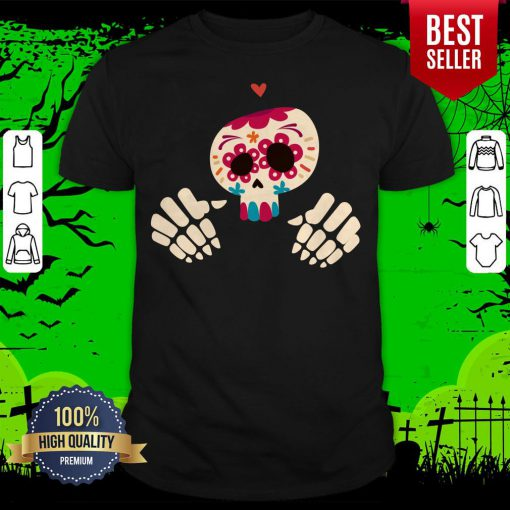 Official Day Of The Dead Sugar Skull Shirt