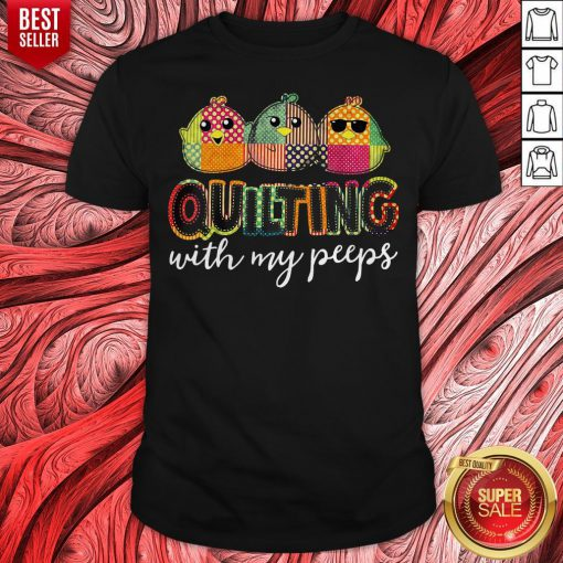 Premium Birds Quilling With My Peeps Shirt