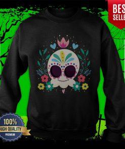 Sugar Skull Dia De Muertos Day Of The Dead Sweatshirt