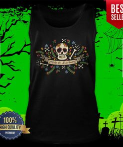 Sugar Skull Dia De Muertos In Mexican Holiday Tank Top