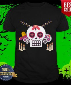 Sugar Skulls Day Of Dead Mexican Holiday Shirt