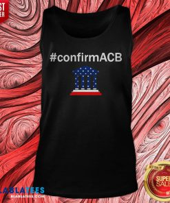 Confirm ACB Amy Coney Barrett Supreme Court America Flag USA Tank Top - Design By Blablatees.com