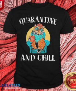 Good Cat Quarantine And Chill 2020 T-Shirt - Design By Blablatees.com