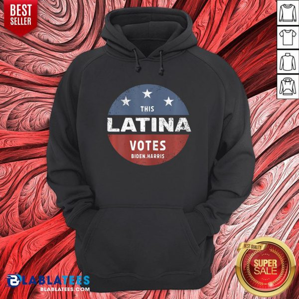 Official This Latina Votes Biden Harris 2020 Hoodie - Design By Blablatees.com
