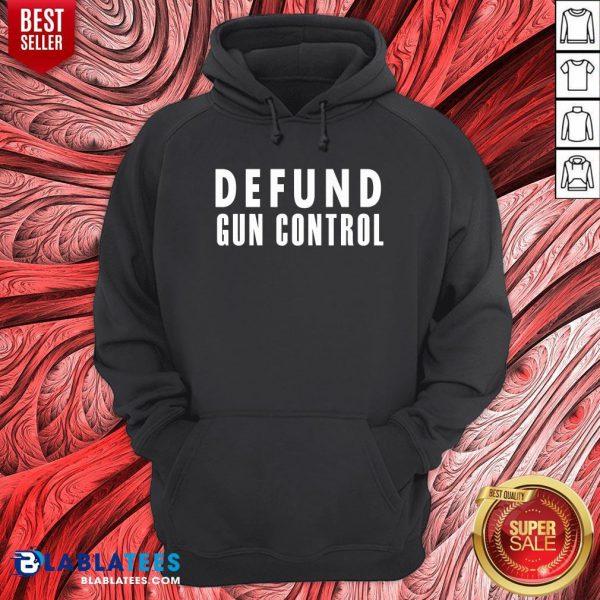 Pretty Defund Gun Control Hoodie - Design By Blablatees.com