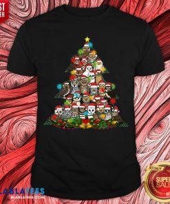 Grateful Owl Quaran Tree Christmas Shirt - Design By Blablatees.com
