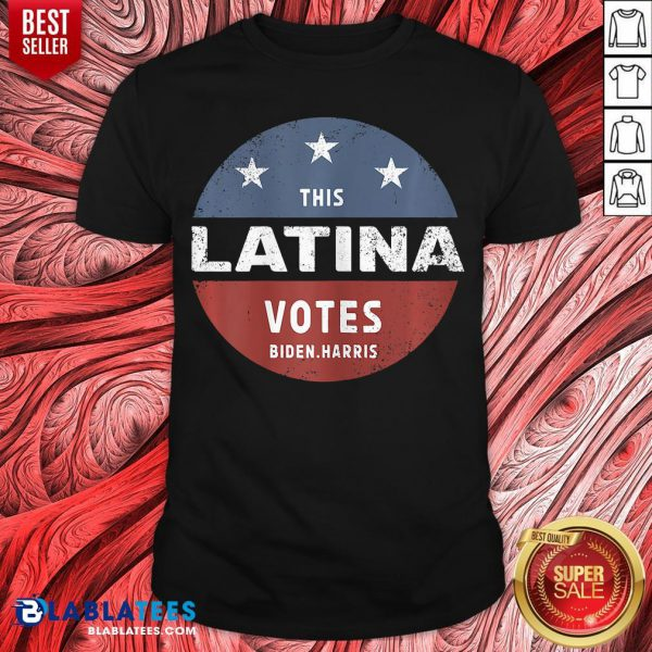 Official This Latina Votes Biden Harris 2020 Shirt - Design By Blablatees.com