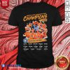 Hot American League Championship Series Champions Houston Astros Signatures Shirt - Design By Blablatees.com