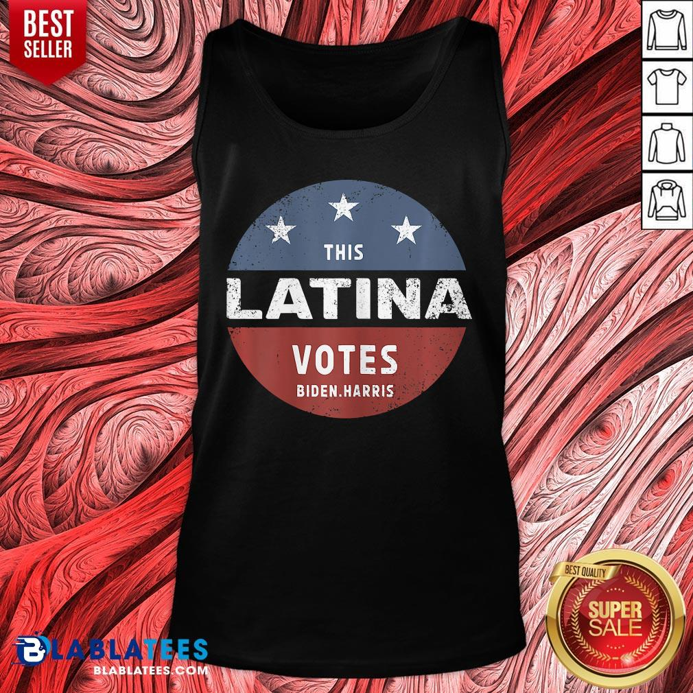Official This Latina Votes Biden Harris 2020 Tank Top - Design By Blablatees.com