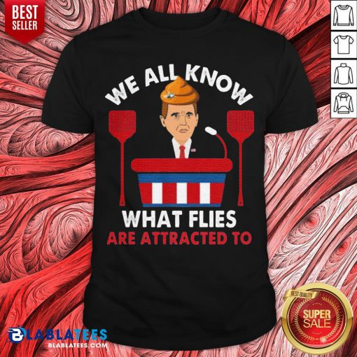 We All Know What Flies Are Attracted To Funny Pence 2020 VP Debate Shirt - Design By Blablatees.com