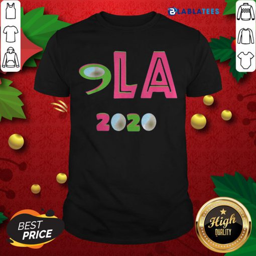 Awesome Comma LA 2020 AKA Vote Joe Biden Kamala Harris Shirt Design By Blablatee.com