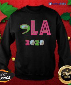 Awesome Comma LA 2020 AKA Vote Joe Biden Kamala Harris Shirt Design By Blablatee.com