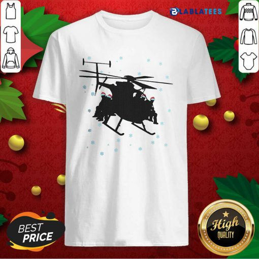 Awesome Night Stalkers Helicopter Christmas Shirt Design By Blablatee.com