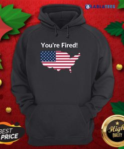 Funny You're Fired Donald Trump Presidential USA Map Election 2020 Shirt Design By Blablatee.com