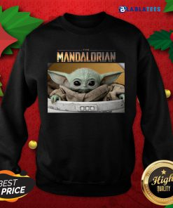 Happy Baby Yoda The Mandalorian Shirt Design By Blablatee.com