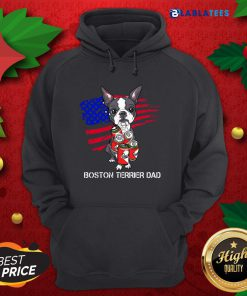 Nice Boston Terrier Beer Dad Shirt Design By Blablatee.com