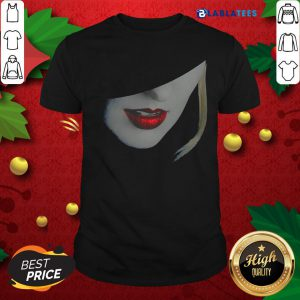 Top Beauty Red Lips Contour Shirt Design By Blablatee.com