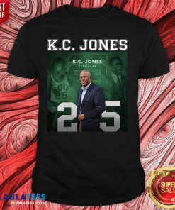 K C Jones Dies Shirt Design By Blablatee.com