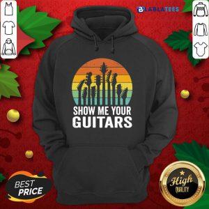 Show Me Your Guitars Vintage Retro Shirt Design By Blablatee.com