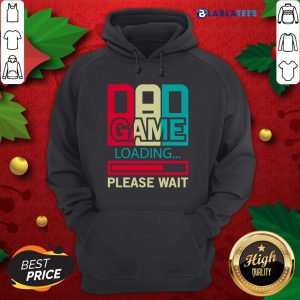Gamers Dad Game Loading Please Wait Shirt Design By Blablatee.com