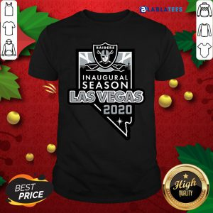 Raiders Inaugural Season Las Vegas 2020 Shirt Design By Blablatee.com