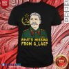 Stalin Communist What's Missing From Gulag T-Shirt Design By Blablatee.com